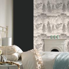 Mirage: Gray wallpaper Elixir Graham & Brown