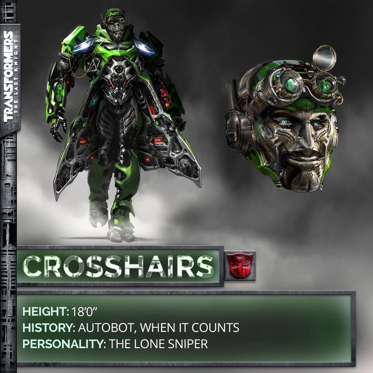 Crosshairs in Transformers: The Last Knight