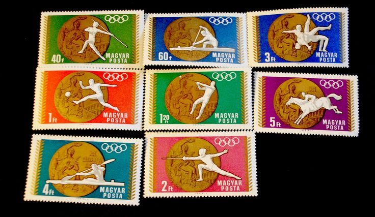 #1950-1957 Hungary - Victories Won by Hungarian Team in 1968 Olympics (MNH)