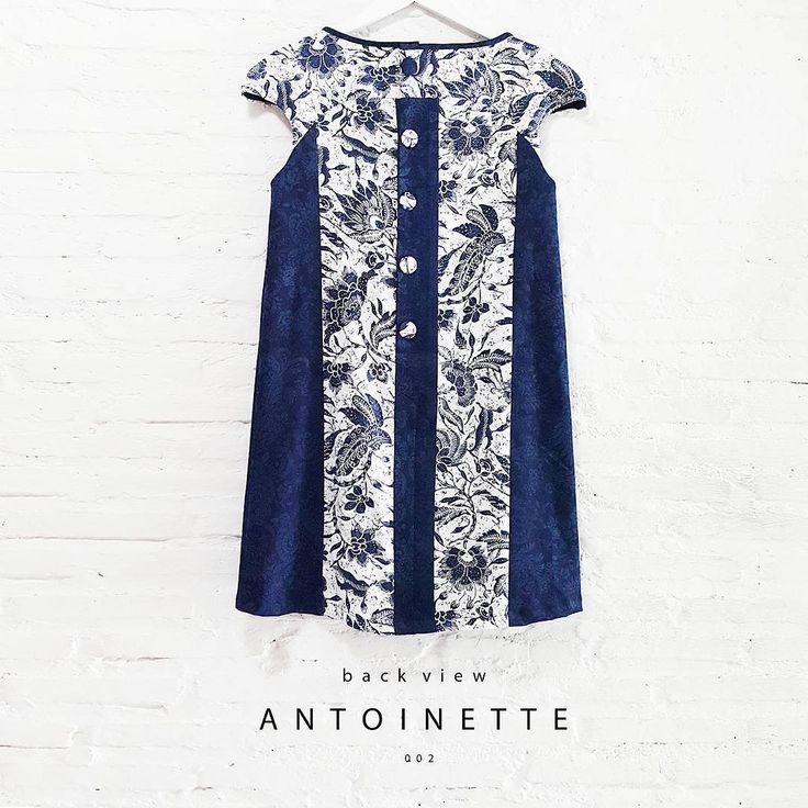 New Arrival  Antoinette002  www.nonandnik.com  #batik #batikindonesia #fashionindonesia #batikdress #batikmodern #batikshop #fashionbatik #batikfashion #ootdbatik #onlineshop #localbrand #readytowear #batiknonik #nonandnik