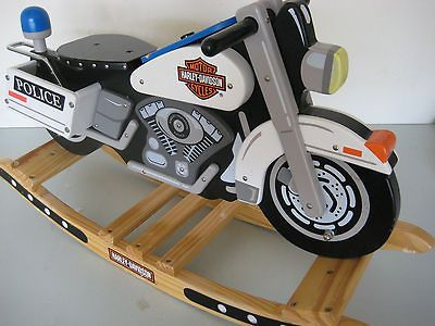 Kid Kraft Harley Davidson Rocking Horse
