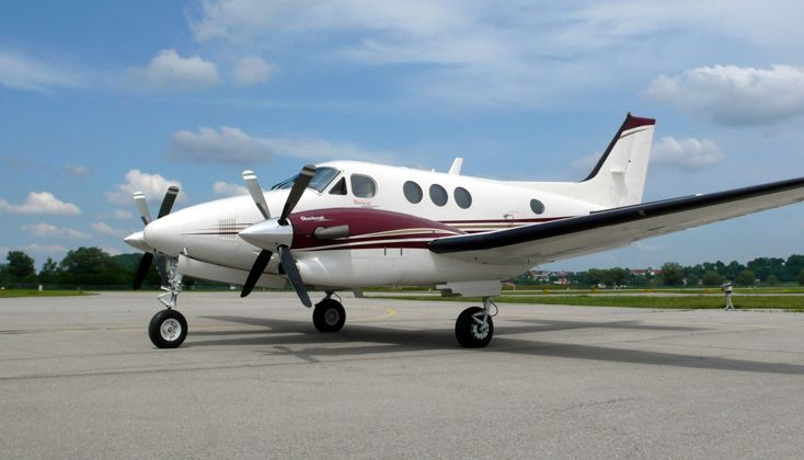 2008 Beechcraft King Air C90GTi for sale in (EDMA) Augsburg, Germany => www.AirplaneMart.com/aircraft-for-sale/Multi-Engine-TurboProp/2008-Beechcraft-King-Air-C90GTi/14386/