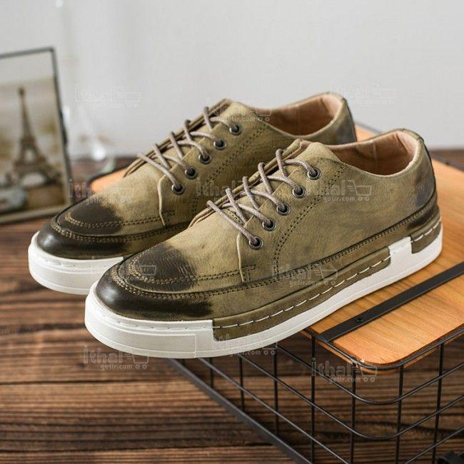 Yüksek Kaliteli Malzemelerden Üretim Moda Erkek Ayakkabı Modelleri - 571582 - 12