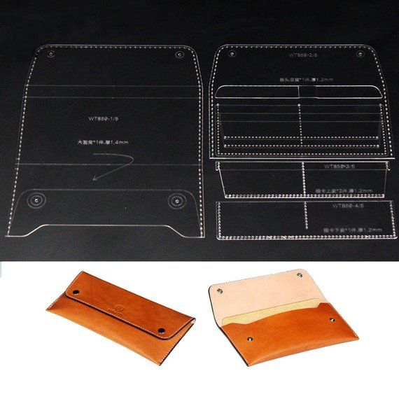 Material Acrylic Perspex Sheet Type Clear Thickness 2mm The Size Of The Finished Product Is About 20 5 9 8cm L W Protective Masking O Leather Purses Purse Patterns Leather