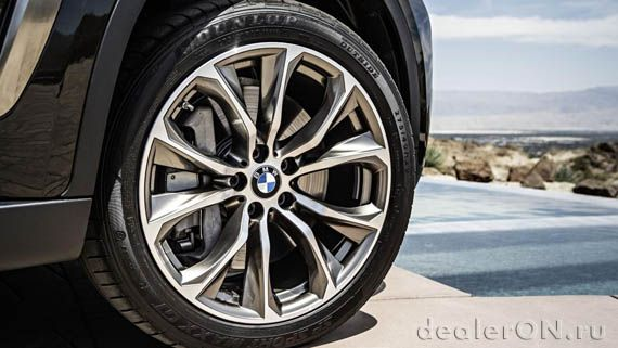 Колеса (диски) кроссовера-купе BMW X6 xDrive50i 2015 / БМВ X6 xDrive50i 2015