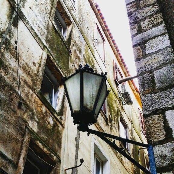 Lamp, light, croatia, Street