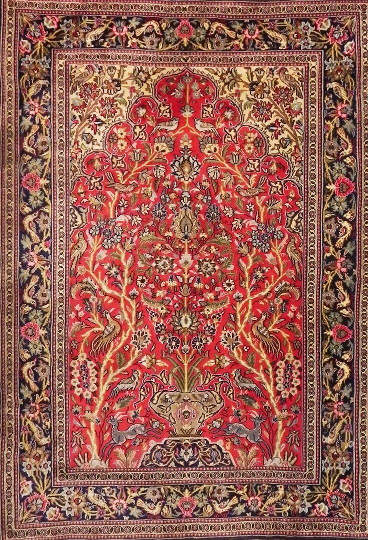 tappeto qum persiano