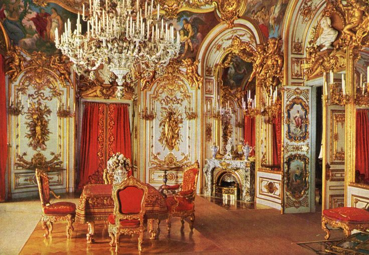 Dining Room King 39 S Castle Herrenchiemsee Postcard