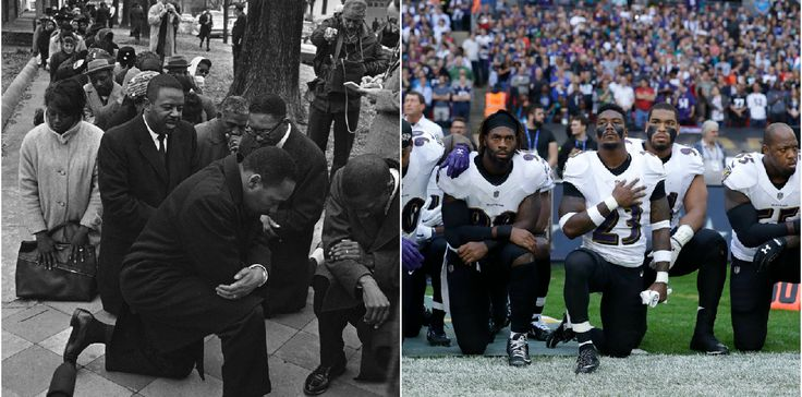 The long history of civil rights protests making white people uncomfortable Criticisms of NFL protests today sound a lot like criticisms of civil rights protests in the 1960s.