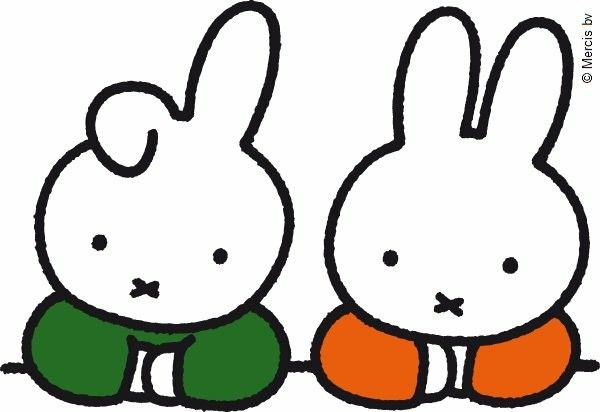 This is Miffy's friend, Dan – also known as Flopear!