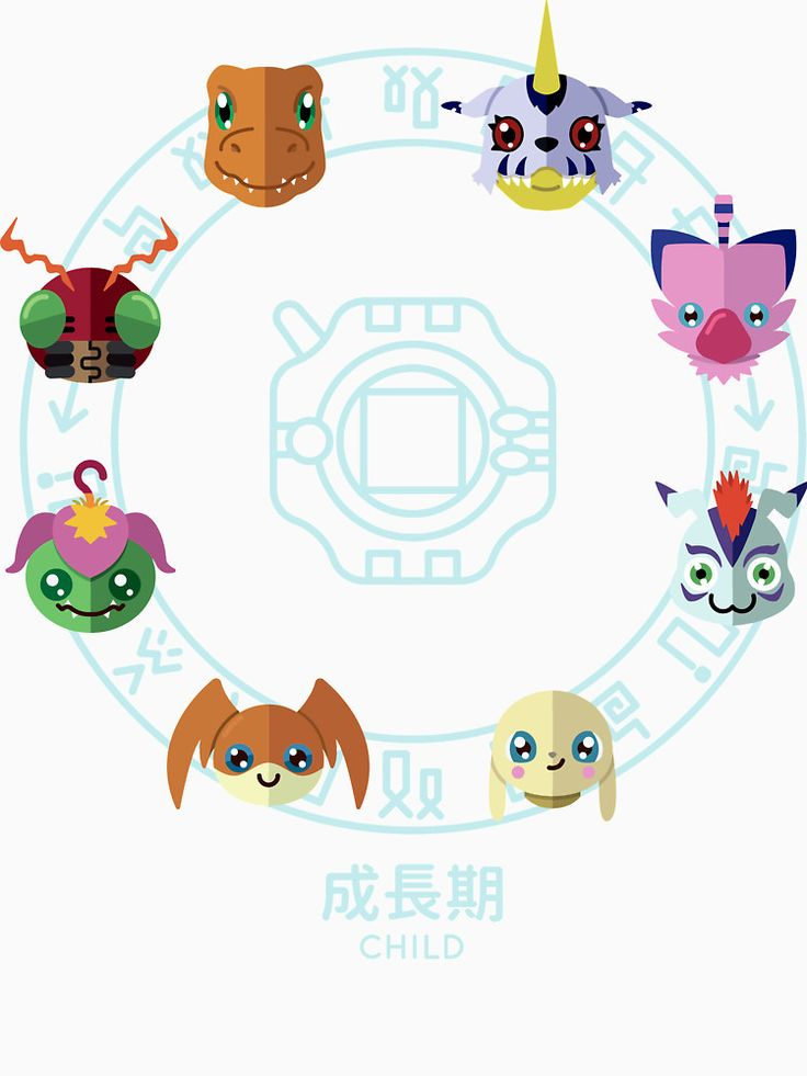 """""""Digimon Adventure - Rookie"""" T-Shirts & Hoodies by Sindor   Redbubble"""
