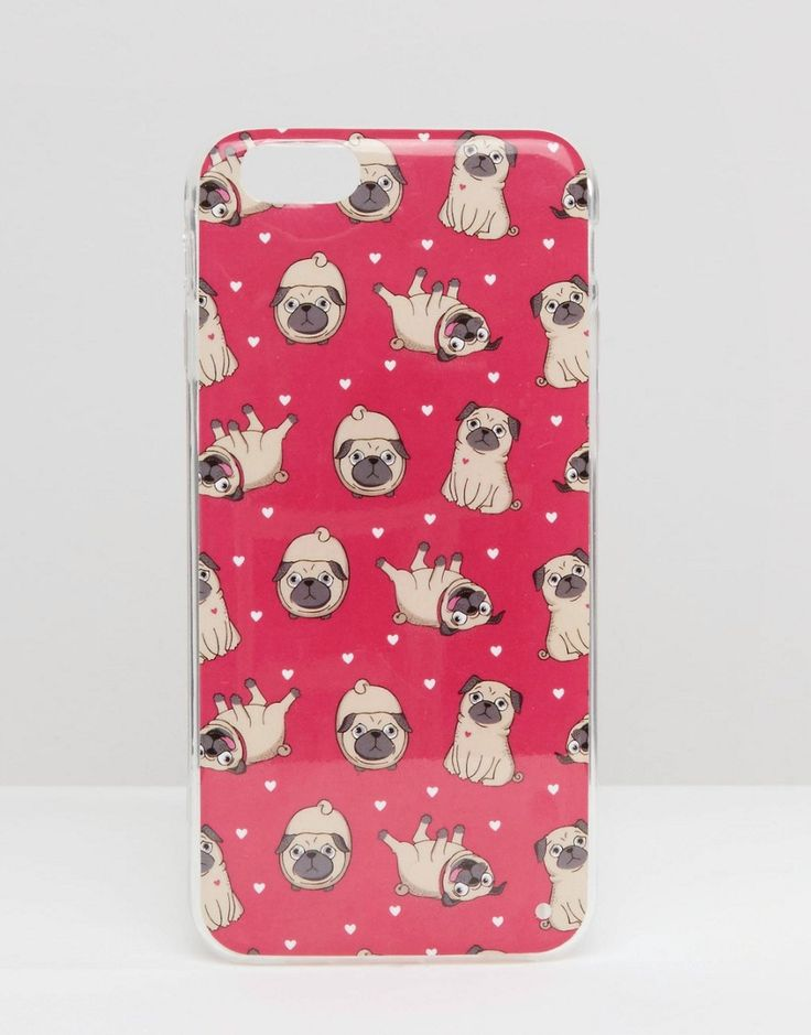 Image 1 ofSignature iPhone 6 Case In Pug Print