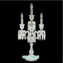 Gratis verzending Franse Huwelijk kaarshouder wedding crystal kandelaar tafellampen eetkamer Restaurant kandelaar(China (Mainland))