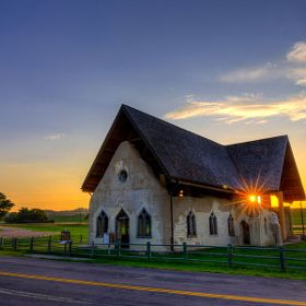 Fort Randall Chapel Pickstown Sd By Dakota Winds Photography