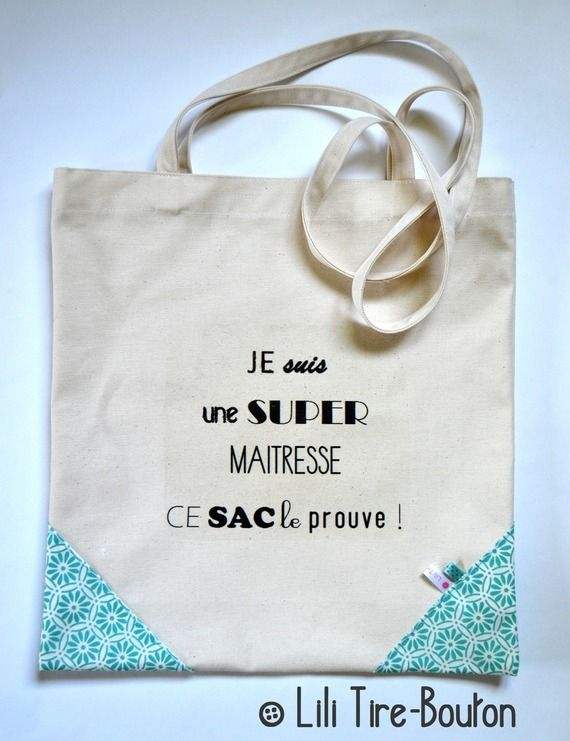 pour maitresses tote bag coin liberty