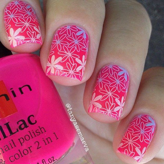 654 best Stamped nail art images on Pinterest | Belle nails, Nail ...