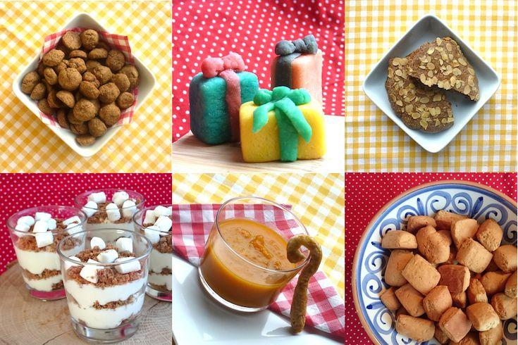 Recepten voor het heerlijk avondje! Leuk voor kinderen (maar ook voor volwassenen). http://dekinderkookshop.nl/sinterklaasrecepten-voor-kinderen/