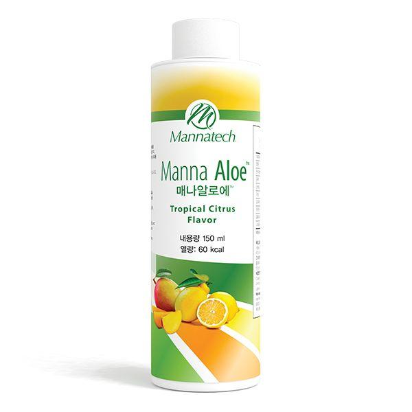 매나알로에™ - '매나폴®' 함유한 매나테크만의 음료