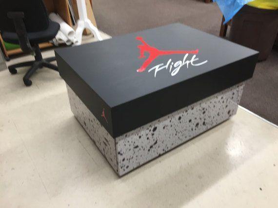 Michael Jordan Nike boîte à chaussures avec une impression de