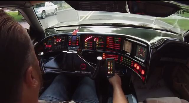 Knight Rider Fan Builds Perfect Replica Of The KITT Car #technology