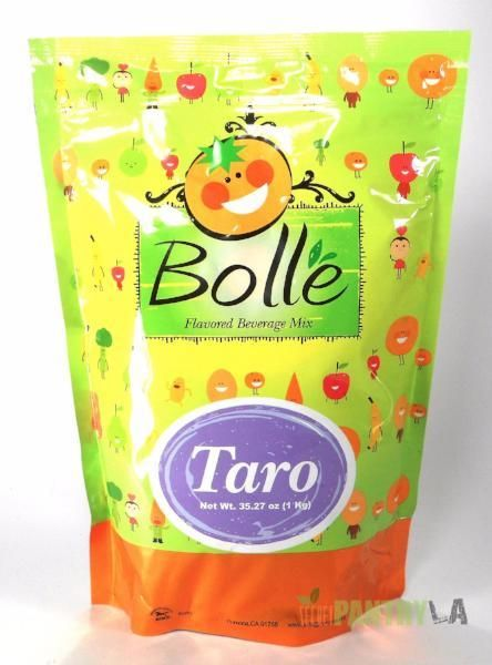 BOLLE Taro Premium Powder Mix for Bubble Tea Boba Smoothies Slush 2.2 Lbs.