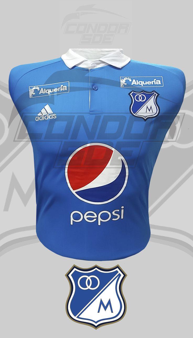 Millonarios FC embajador del fútbol Colombiano, lo mas importante es tener una buena colección e indumentaria adecuada para apoyar a tu equipo del alma.