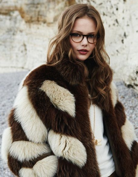 Frida Gustavvson by Patrick Demarchelier for Paul & Joe Fall 2010 Campaign