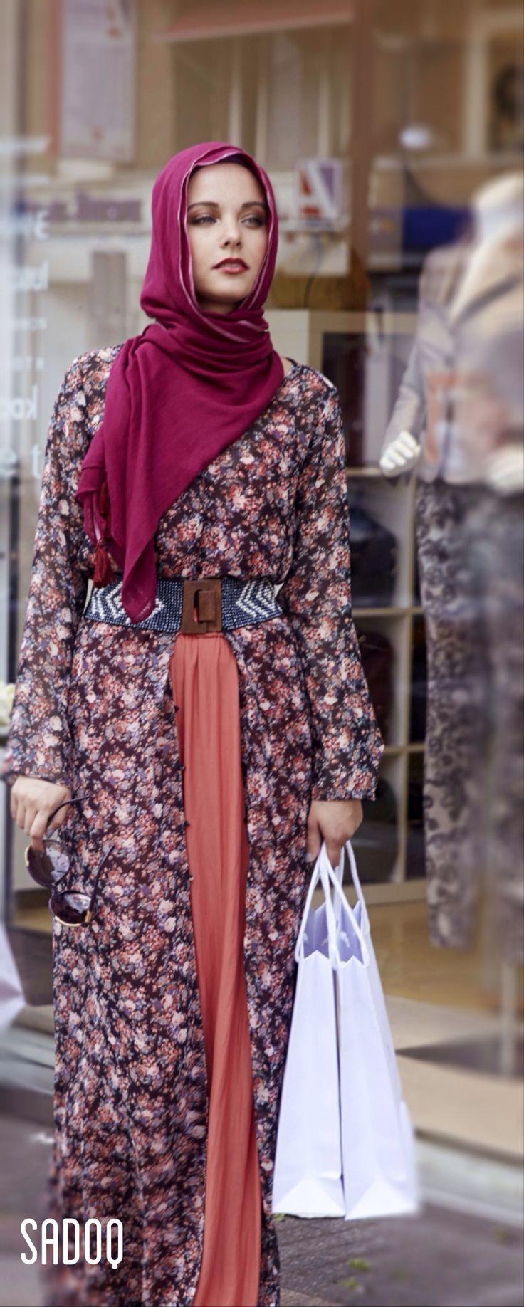 A SADOQ woman loves to shop