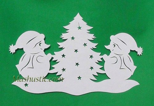 Christmas cutouts