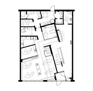 Floor plan click to enlarge orthodontic office ideas pinterest floor plans orthodontics for Orthodontic office design floor plan