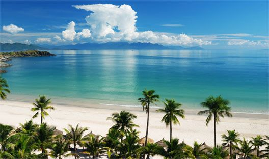 Nha Trang, Vietnam: Blue Sky, Wall Murals, Wall Decals, Pacific Ocean, Beaches Scene, Sea View, Photo Wallpaper, Beaches Bedrooms, Home Page