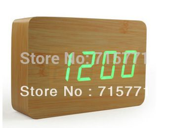>> Click to Buy << New Creative retro LED wooden modern alarm clock multiple sets alarm clocks electronic bell desk clock led clock #Affiliate