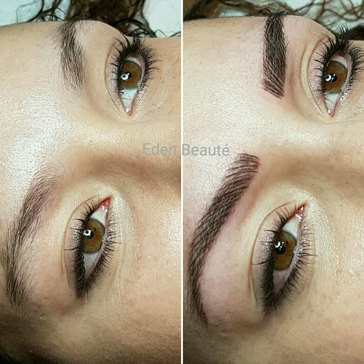 635 best images about sobrancelha on pinterest semi permanent makeup cosmetic tattoo and - Maquillage permanent sourcils poil a poil ...