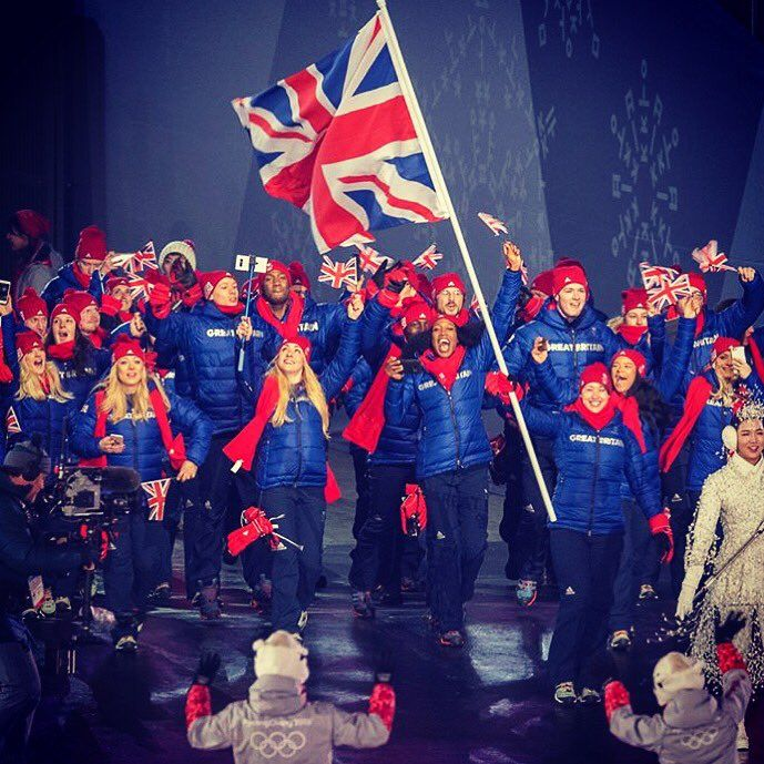 Image result for team gb opening ceremony 2018