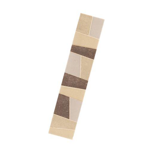 Beton Beige Listello 250X50mm   08030L Beaumont Tiles