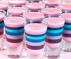 I will 100% figure out how to make such a beautiful jello shot. #CocktailsPlease