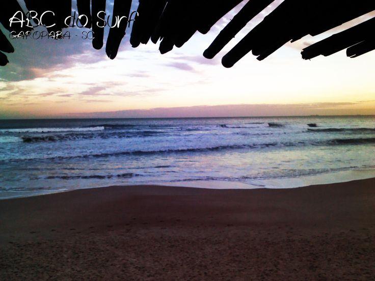 Praia da Ferrugem em Garopaba, SC