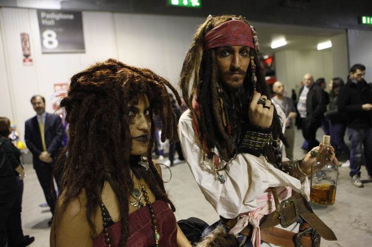 XX edizione di #Cartoomics: #cosplayer