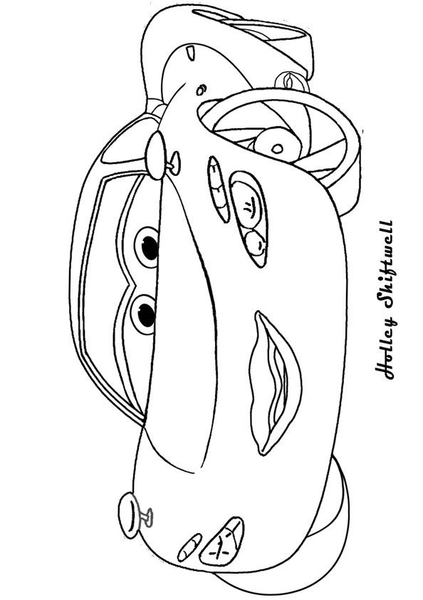 Finn mcmissile coloring page