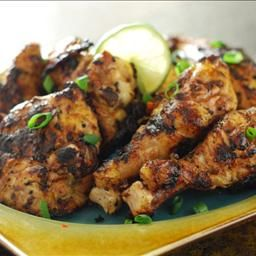 Island Beach Chicken on BigOven: I call it Island Beach Chicken because it mimics my favorite jerk chicken and just about any other chicken from island beachy destinations like Jamaica, the Bahamas, Virgin Islands or Barbados.   They all use a spicy, highly seasoned mojo and grill over live fire.
