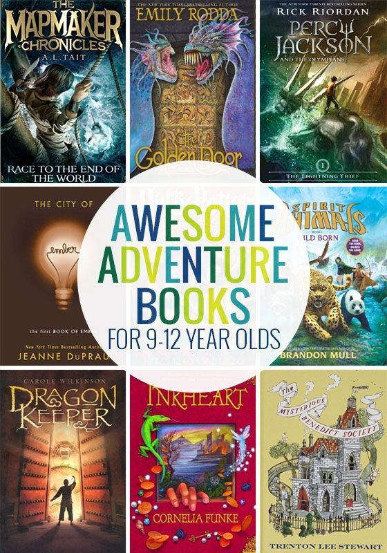 Awesome adventure books for 9-12 year olds!