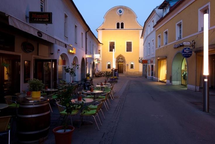 Abend in der Brucker Mittergasse