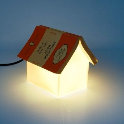 Bookrest Lamp, Designed by Lee Sang Gin Soft reading lamp and book rest without losing your page. J.Maurits