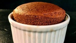 Two Ingredient Chocolate Souffle Recipe | The Chew - ABC.com substitute hazelnut spread with Reese's spread