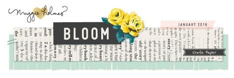 BLOOM >> New Collection for Crate Paper! –