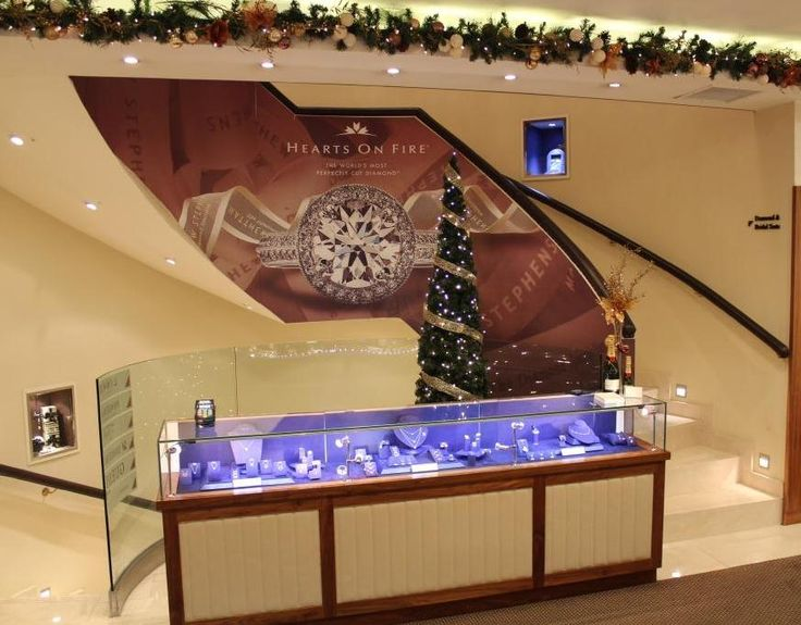 Our Hearts on Fire Display at Matthew Stephens Jewellers - The Diamond Specialists