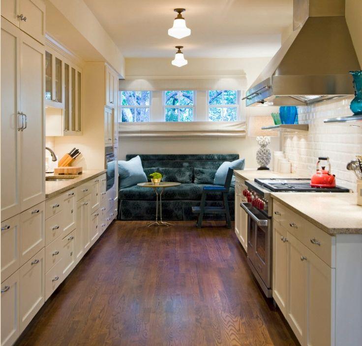 ideas de sofá en la cocina