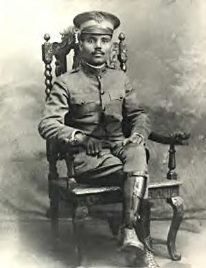 Puerto Rican politician Pedro Albizu Campos as 1st Lieutenant of the US Army