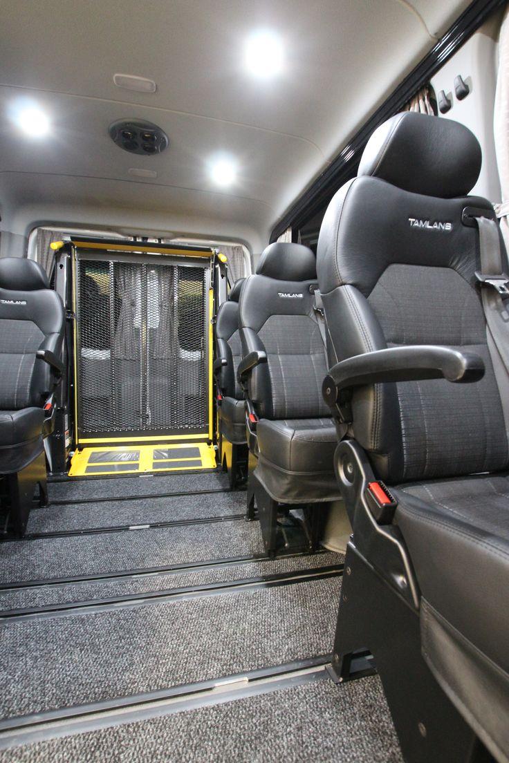 Mercedes-Benz Sprinter Tamlans Disabled Taxi with Wheelchair Lift