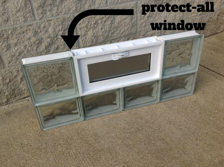 Block Windows For Basement Home Design Inspirations